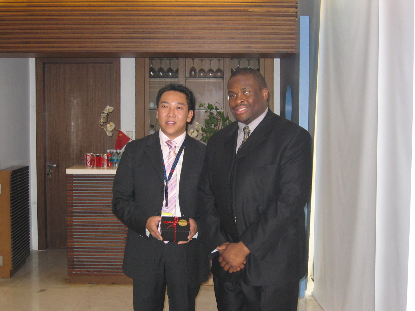Davian and Mr. Cheung