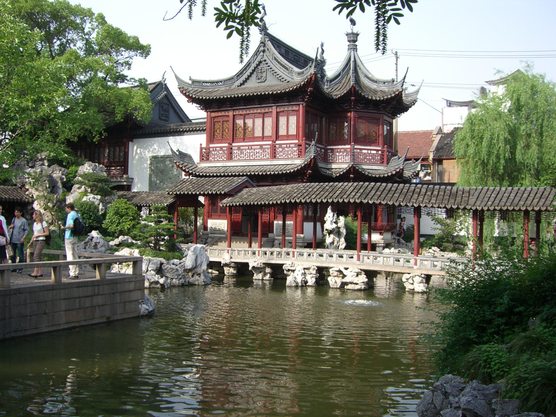 Yu Yuan Bahceleri [Shanghai]